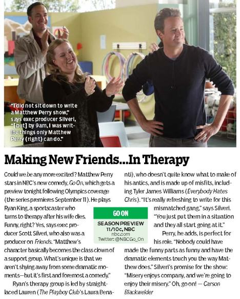 TV Guide 'Go On'